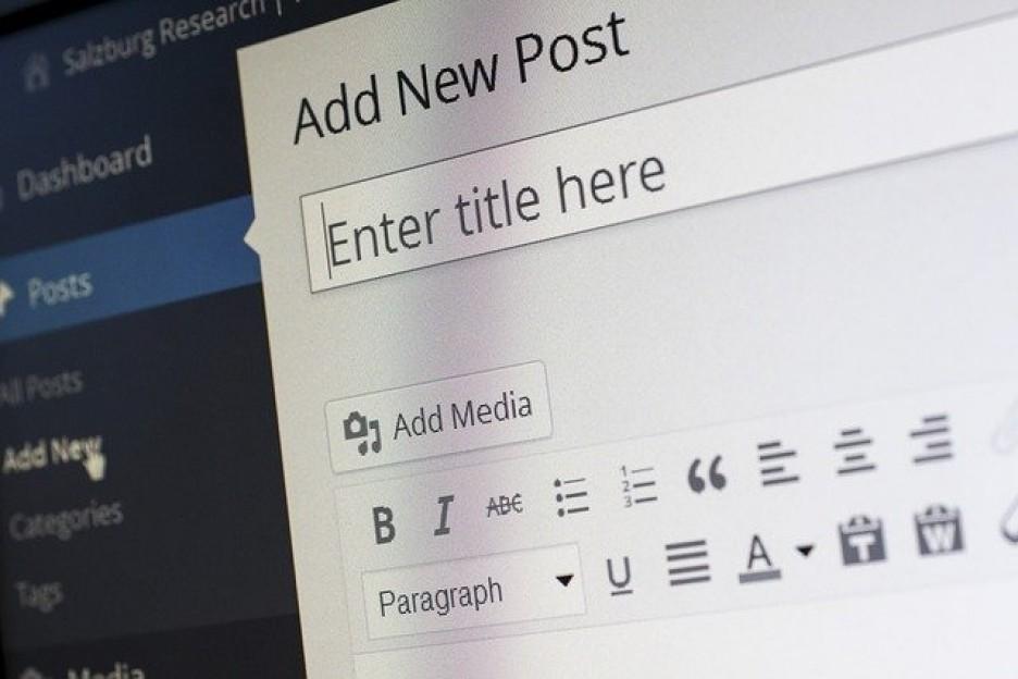 WEB関連はこまめな更新を心がける